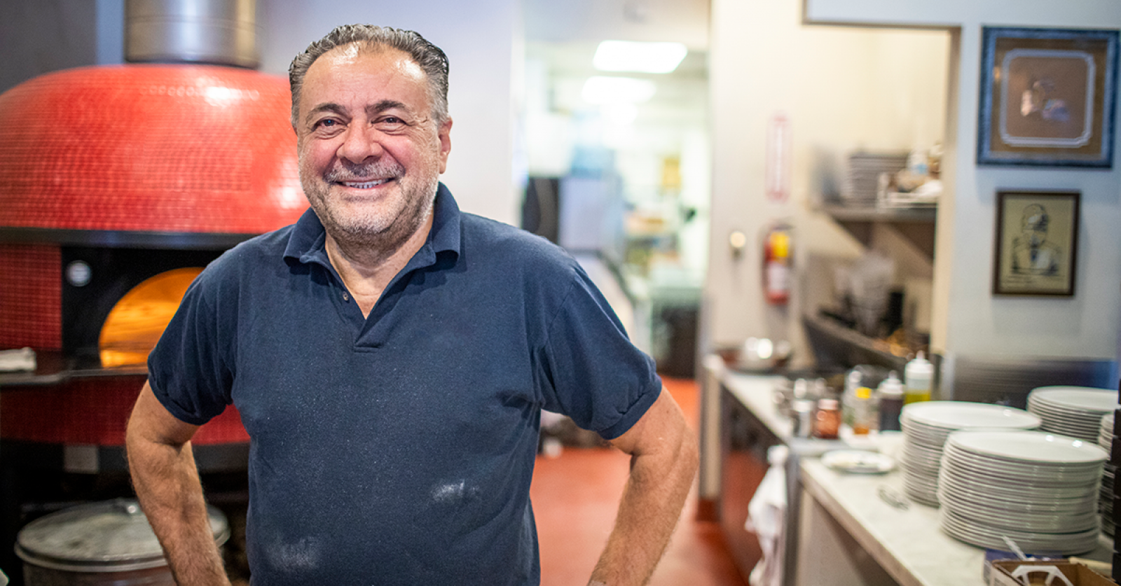 Pizzeria owner banner image